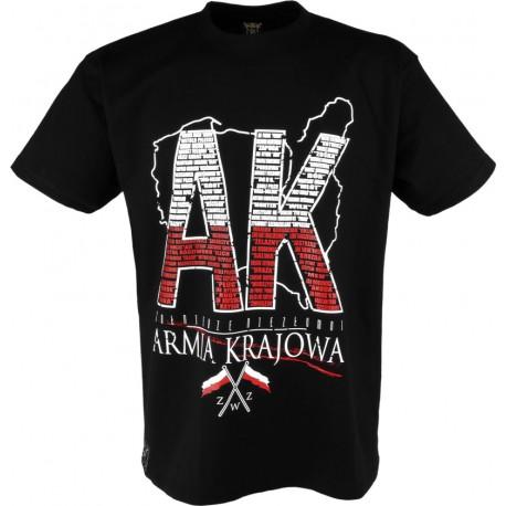 """Koszulka """"Armia Krajowa"""" Black"""