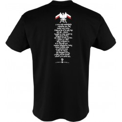 """Tshirt """"Armia Krajowa"""" Black"""