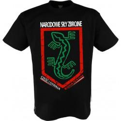 "Koszulka ""Narodowe Siły Zbrojne ""Black"