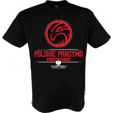 """Koszulka """"Polskie Państwo Podziemne"""""""