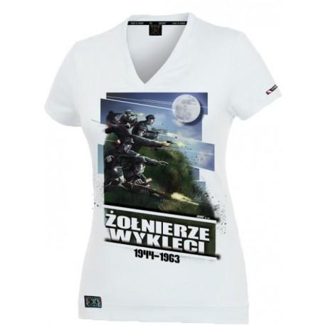 """Tshirt damski """"Żołnierze Wyklęci_v2"""""""