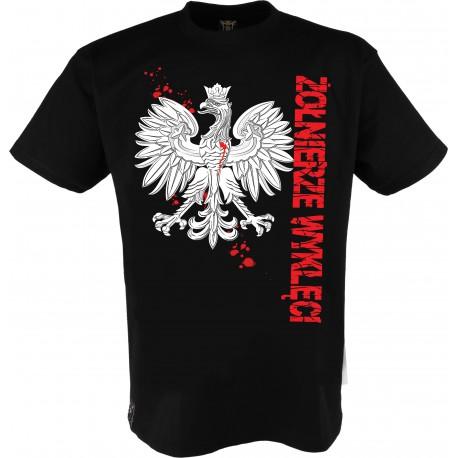 """Koszulka męska """"Godło-Żołnierze Wyklęci"""""""