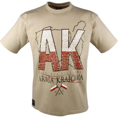 Koszulka patriotyczna Armia Krajowa marki Semper Patria