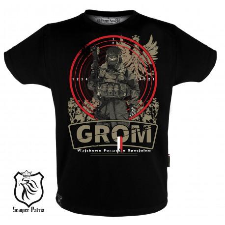 """tshirt """"GROM"""""""