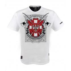 """Koszulka patriotyczna """" Krzyż Wołyński"""" marki Semper Patria"""