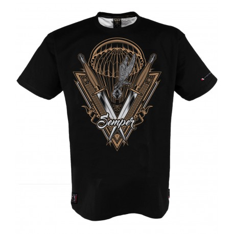 Koszulka patriotyczna CICHOCIEMNI marki Semper Patria