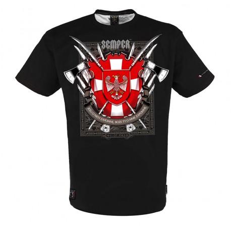 Koszulka Patriotyczna Krzyż Wołyński marki Semper Patria