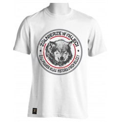 """Koszulka """"Żołnierze Wyklęci-Żyliśmy prawem wilka"""""""