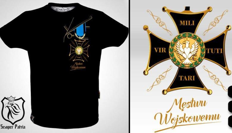 Virtuti Militari koszulka patriotyczna